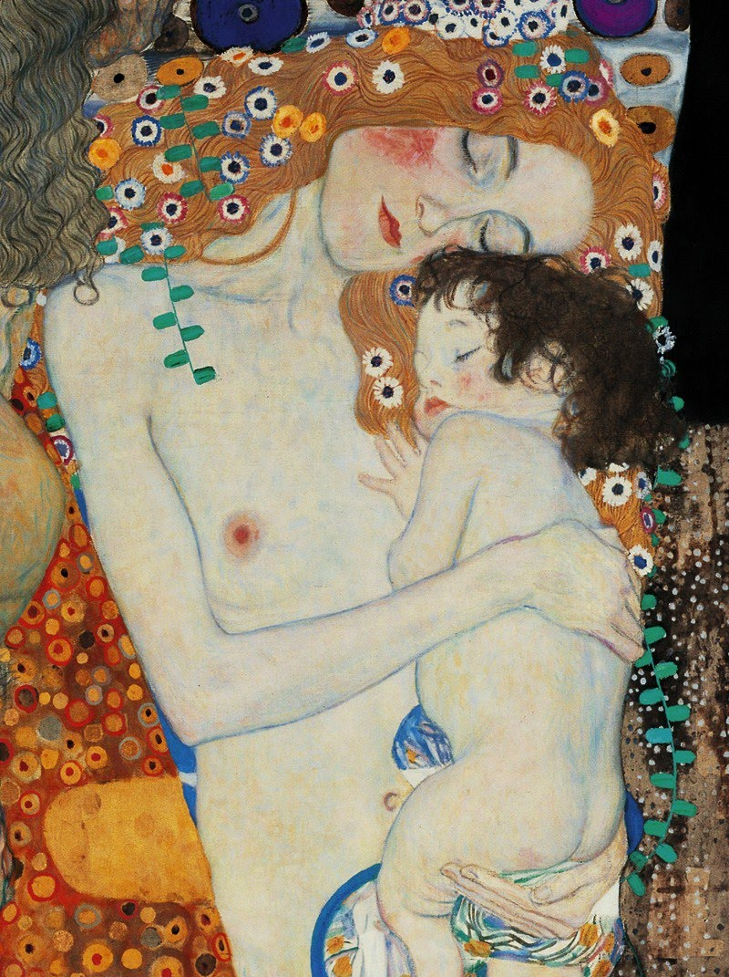 Gustav-Klimt-1862-1918.-Mother-and-Child-2